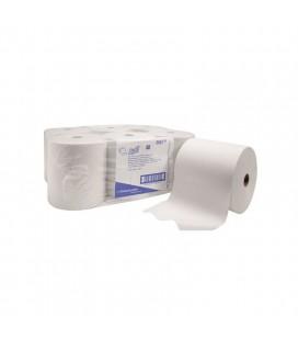 Scott® essuie-mains - rouleau / blanc 96868