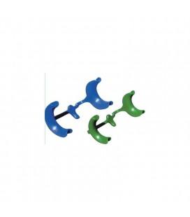 Ecarte-joues avec appui lingual jetables l0330