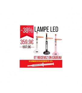 Lampe led + 10 seringues de blanchiment offertes 16 % 37002