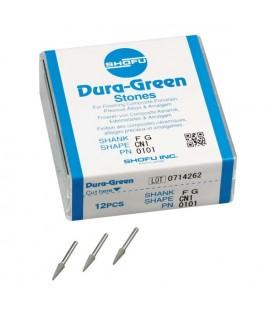 DURA-GREEN POINTES A POLIR FL2 CA 025